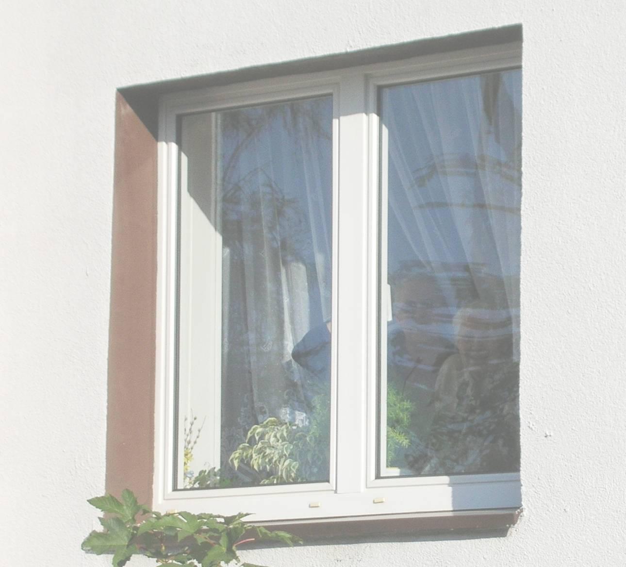 Ciocia Hela z ciocią Dziunią w oknie