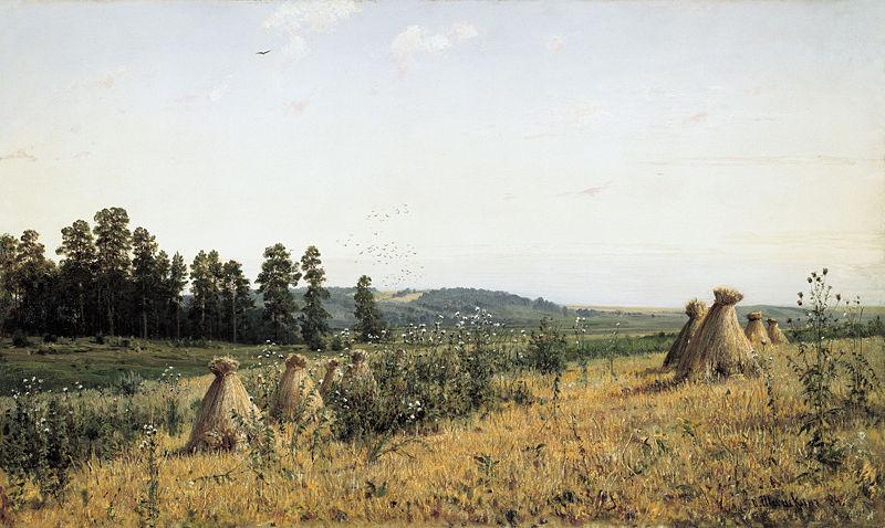 Polesia Landscape by Ivan Shishkin, 1884