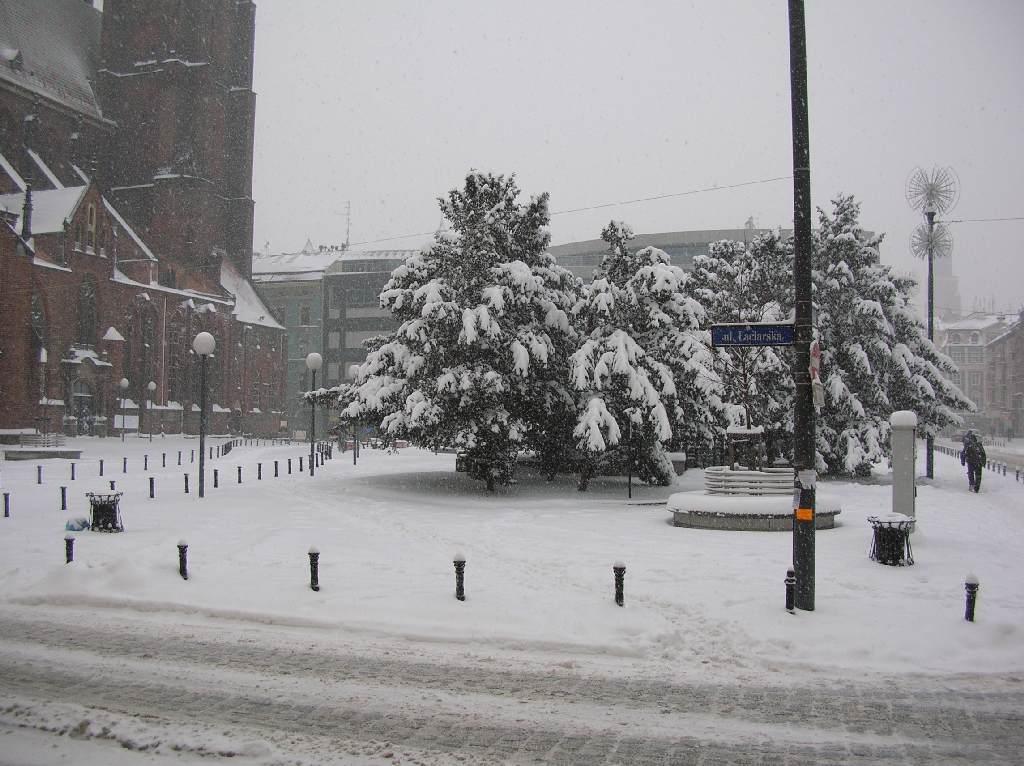 Plac między ulicami Szewską, Wita Stwosza, Łaciarską i św. Marii Magdaleny