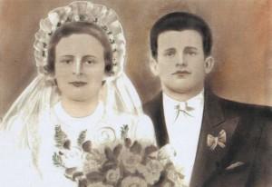 portret ślubny Zofii i Jana Rogów (MR0408)