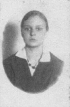 Zofia Wilkówna w dzieciństwie (MR0382)