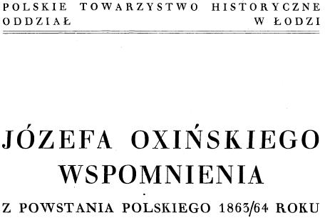 Okładka wspomnień 1939