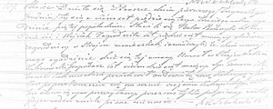 Akt zgonu Łukasza Kalinowskiego (ASC Praszka 109/1853 – MR4846)