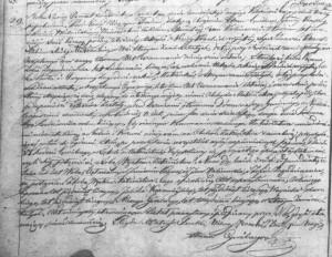 Akt małżeństwa Jana Kalinowskiego z Zofią Zagrodniczanką (ASC Praszka 29/1824 – MR6158)