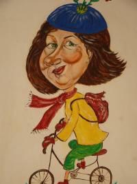 Joanna Cyprych. Autoportret