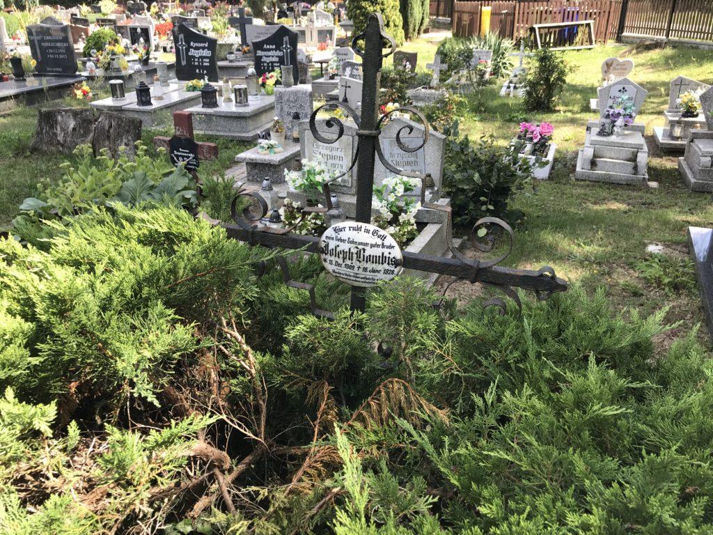 cmentarz w Pokoju (niem. Carlsruhe O/S); fot. MR
