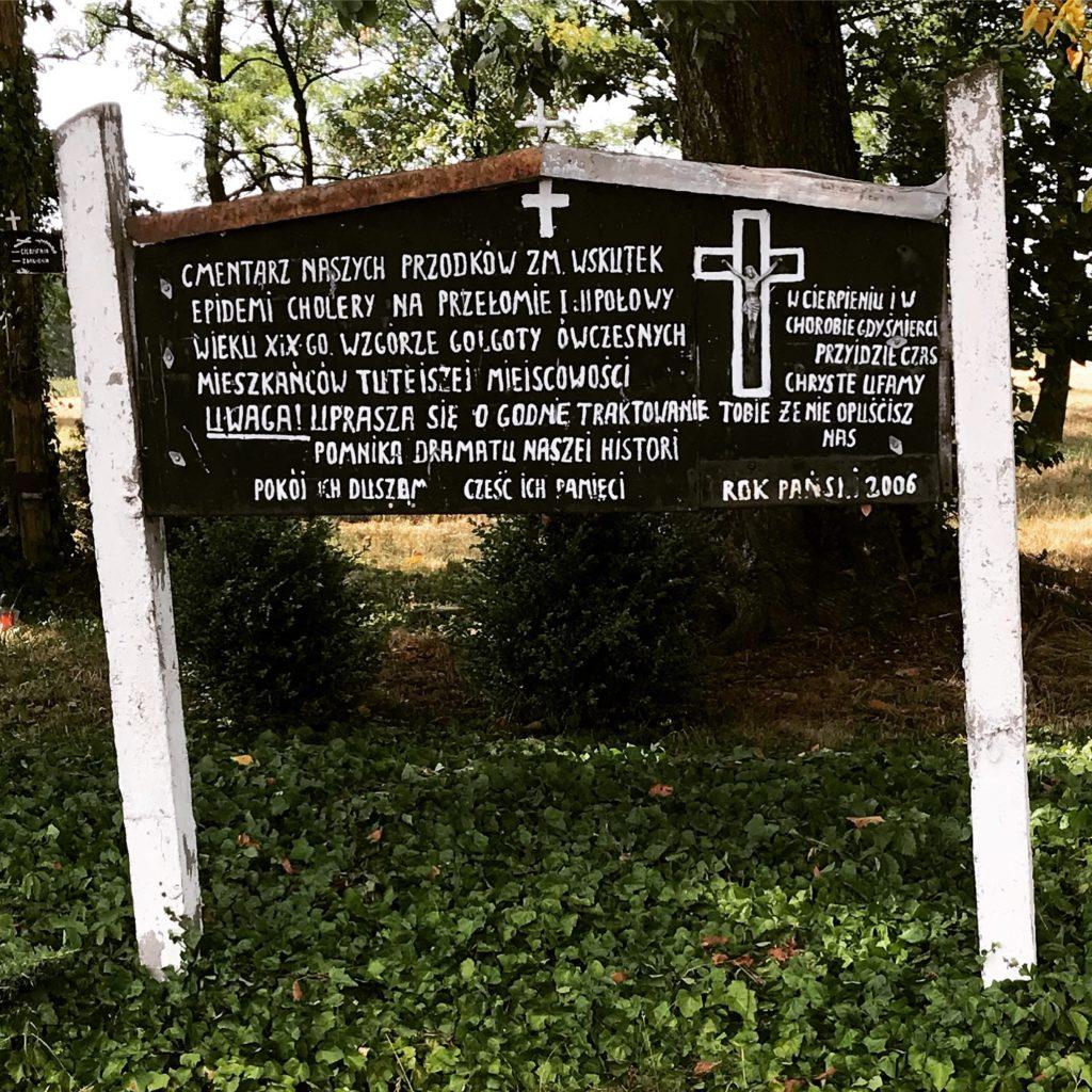 cmentarz choleryczny w Krzyworzece; fot. MR